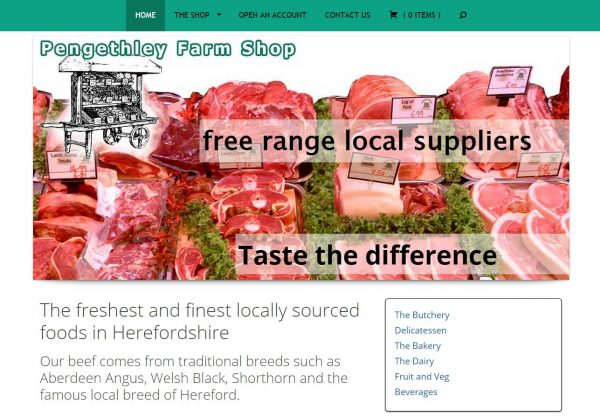 Pengethley Farm Shop