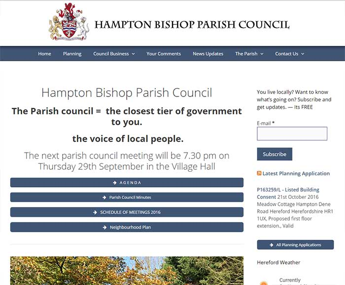 Hampton Bishop Parish Council